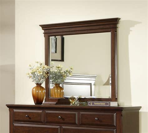 Mirror Finish Dresser by Canton Dresser Mirror Cherry Finish Cn600mr Decor