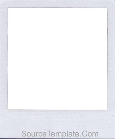 Polaroid Template Printable Polaroid Template Word Editable Free