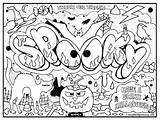 Graffiti Coloring Pages Printable Everfreecoloring sketch template