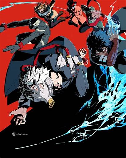 Villains Hero Academia Liberation Paranormal Bnha Tomura
