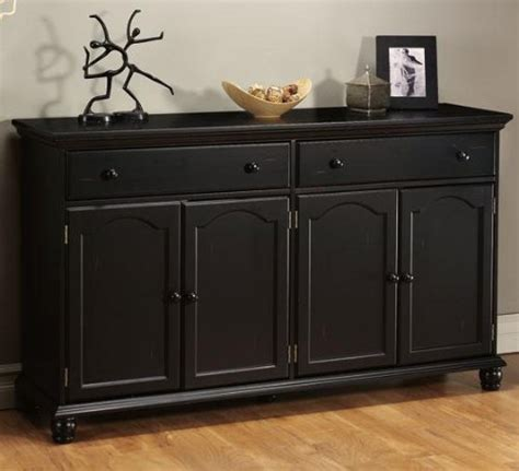 Black Sideboards And Buffets by Harwick Black Credenza Sideboard Buffet Table 35 Quot H X 60 Quot W