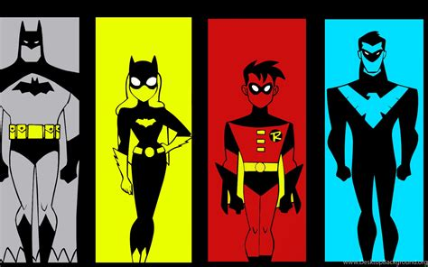 X Animated Series Wallpaper - dc am batman the animated series wallpapers by