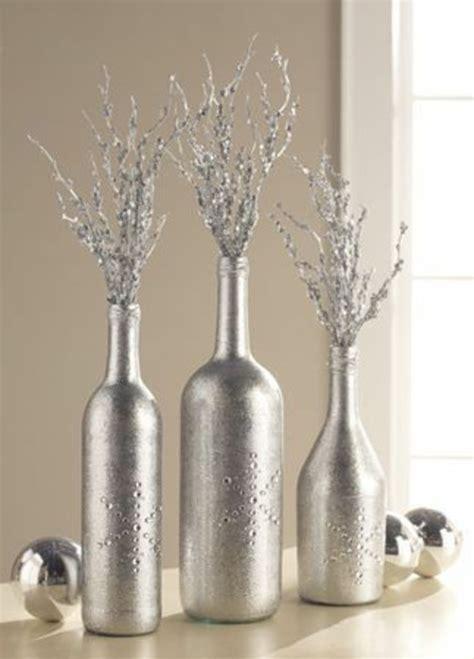 flaschendeko zu weihnachten weihnachtsschmuck aus