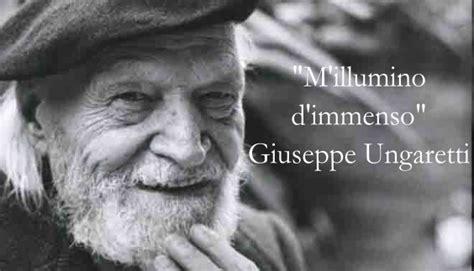 Poesia M Illumino D Immenso Testo by Mattina Di Giuseppe Ungaretti Analisi E Commento Studia