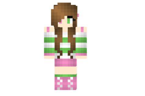 super cute girl skin file minecraftcom