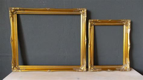 Two Gilded Baroque Frames 21st Century England Catawiki