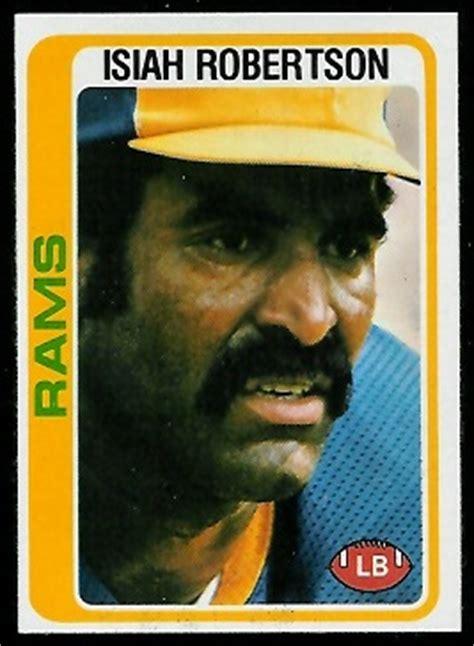 isiah robertson  topps  vintage football card