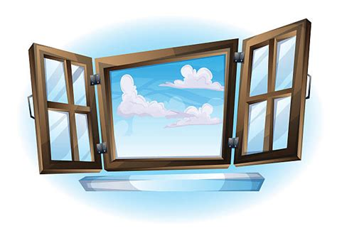 Royalty Free Open Window Clip Art, Vector Images