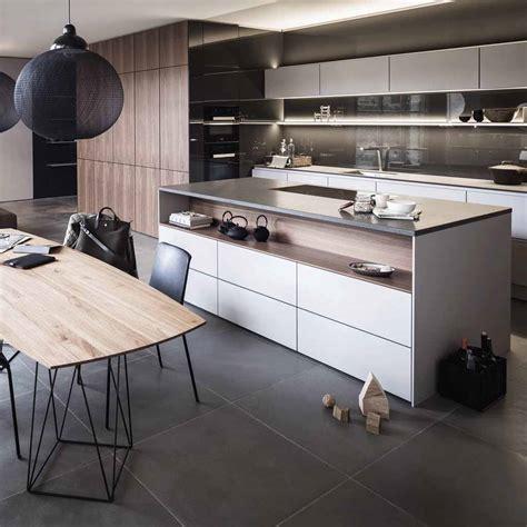 cuisine et d駱endances tendance une cuisine bois et laque décoration