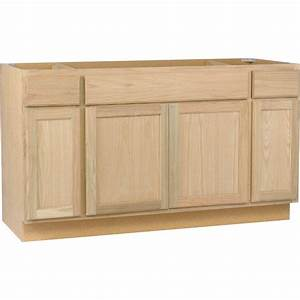 Furniture choose your unfinished wood cabinets for for Kitchen cabinets lowes with name badge stickers