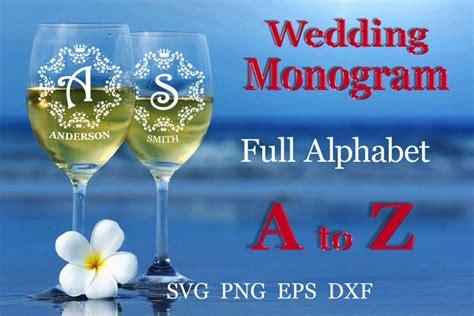wedding split monogram wedding font svg engagement svg  monograms design bundles