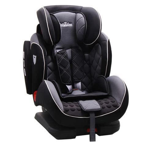 siege auto groupe 2 isofix black iso fix gr 1 2 3 9 36 kg sps toptether