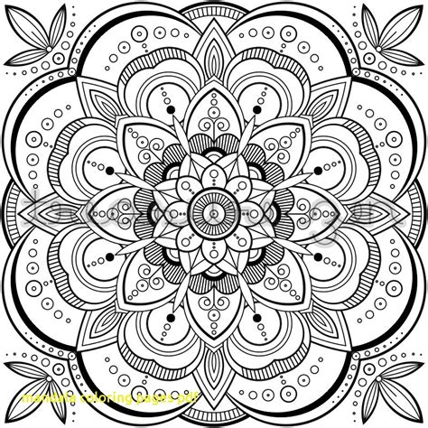 Mandala Coloring Pages Pdf With 169 Best Printable