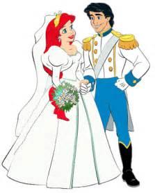 Princess Ariel and Prince Eric Clip Art