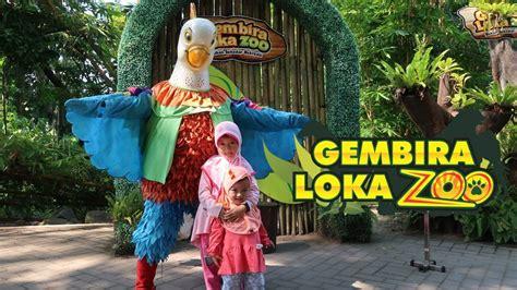 berwisata  kebun binatang gembira loka yogyakarta youtube