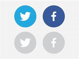 10 Round Facebook Icon Images - Round Facebook Logo Icon ...