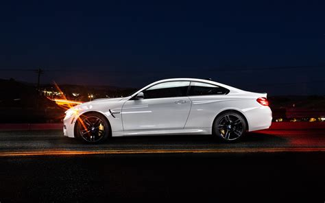 M4 Coupe Hd Picture by Wallpaper Bmw M4 Coupe F82 White Car Side View 1920x1200