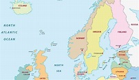 The Countries of Northern Europe - WorldAtlas.com