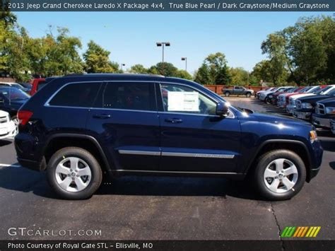 navy blue jeep grand cherokee true blue pearl 2013 jeep grand cherokee laredo x
