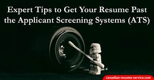 expert tips to get your resume past the applicant tracking With how to get past applicant tracking system