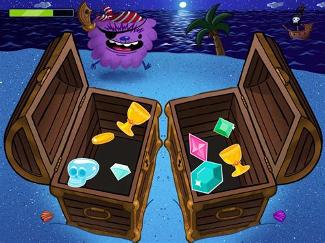 matching treasure chest game game educationcom