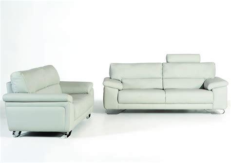 canapé contemporain cuir acheter votre canapé contemporain 2 places fixe cuir