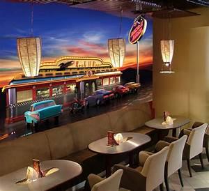 American Diner Wallpaper : retro american diner ~ Orissabook.com Haus und Dekorationen