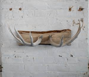 Deer Antler Wall Coat Rack
