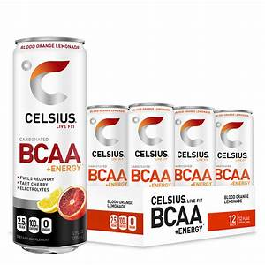 Celsius Bcaa  Energy  355ml  12 Cans