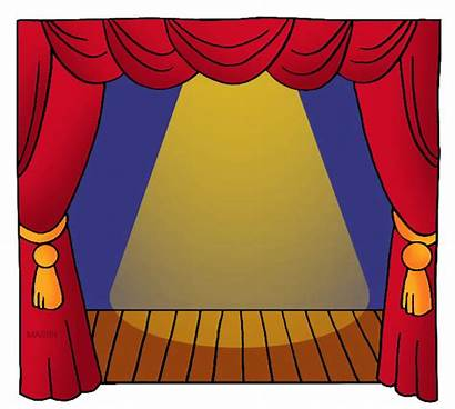 Stage Clipart Teatro Theater Drama Play Arts