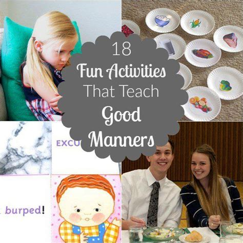 best 25 manners activities ideas on manners 632 | 367cc4106b1326801354044ca64f1585 counseling activities fun activities