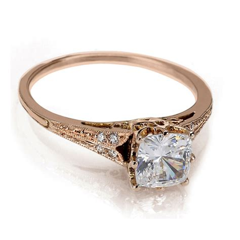 Chic And Stylish Collections Of Vintage Rose Gold Wedding. Reverse Rings. High School Rings. Cost Engagement Rings. Fashionable Wedding Rings. Mother Engagement Rings. Designs Rings. Flash Rings. 1 Carat Center Stone Engagement Rings