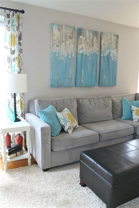 Yellow Gray And Turquoise Living Room by 20 Best Colors Yellow Aqua Teal Green White Home
