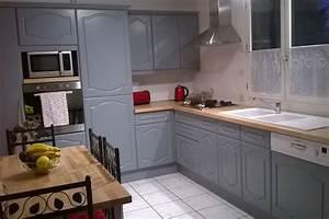 renover une cuisine avec les plans de travail de With plan de travail cuisine hetre