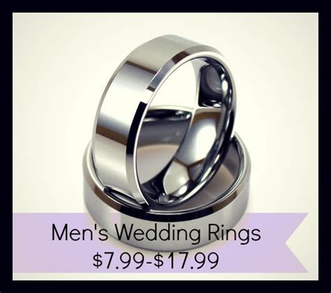 wedding rings for men 7 99 shipped southern savers