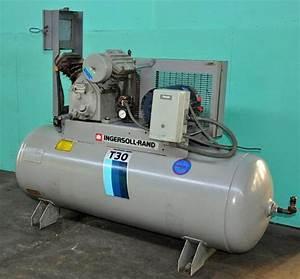 Ingersoll Rand T-30 5 Hp Air Compressor