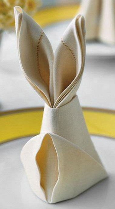 Hasen Servietten Falten by 20 Easter Table Setting Ideas For A Festive Atmosphere
