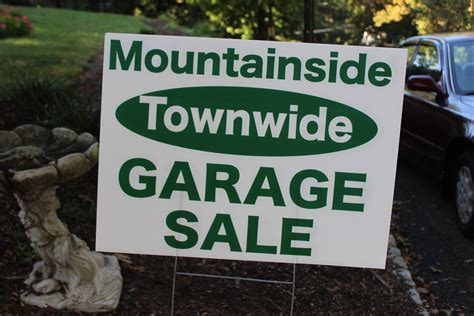 garage sales ta newcomers annual town wide garage is a big hit