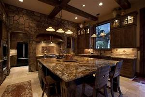 20 beautiful rustic kitchen designs for Kitchen design rustic