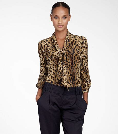 leopard print blouses print blouse silk blouses