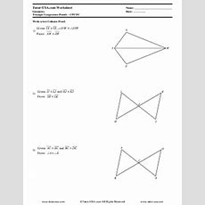 Worksheet Triangle Congruence Proofs  Cpctc  Corresponding Parts  Geometry Printable