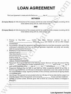 free printable personal loan agreement form generic With personal loan with minimum documentation