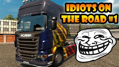 truck simulator on the road idiots on the road 1 ets2mp moments truck simulator 2 multiplayer