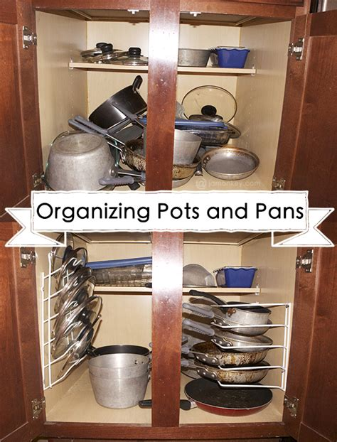 how to organize pots and pans in small kitchen 50 organizing ideas for every room in your house jamonkey 9923