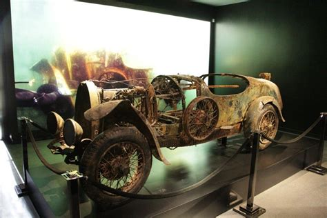 73-year-old Bugatti Recovered From The Bottom Of A