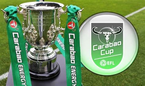 Carabao Cup Fourth Round Draw (Full Fixture) | Fashion ...