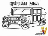 Coloring Pages Military Army Boys Truck Humvee Jeep Yescoloring Vehicle Printables Printable Soldier Tank Trucks Sheets Boy Vehicles Camp Books sketch template