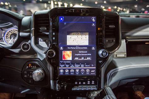 2019 Dodge Touch Screen by The New 2019 Ram 1500 Has A 12 Inch Touchscreen