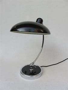 Lampe De Bureau Noire : lampe de bureau noire par christian dell pour kaiser idell 1930s en vente sur pamono ~ Teatrodelosmanantiales.com Idées de Décoration