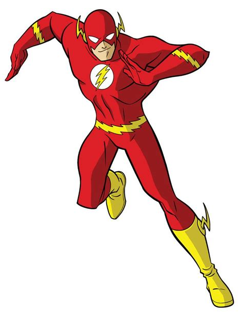 How To Draw Dc Heroes  The Flash By Timlevins On
